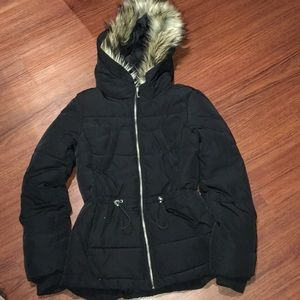 Padded Hooded Parka - Winter Coat